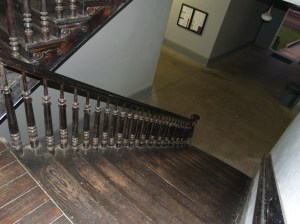 Staircase in the Carroll County Courthouse