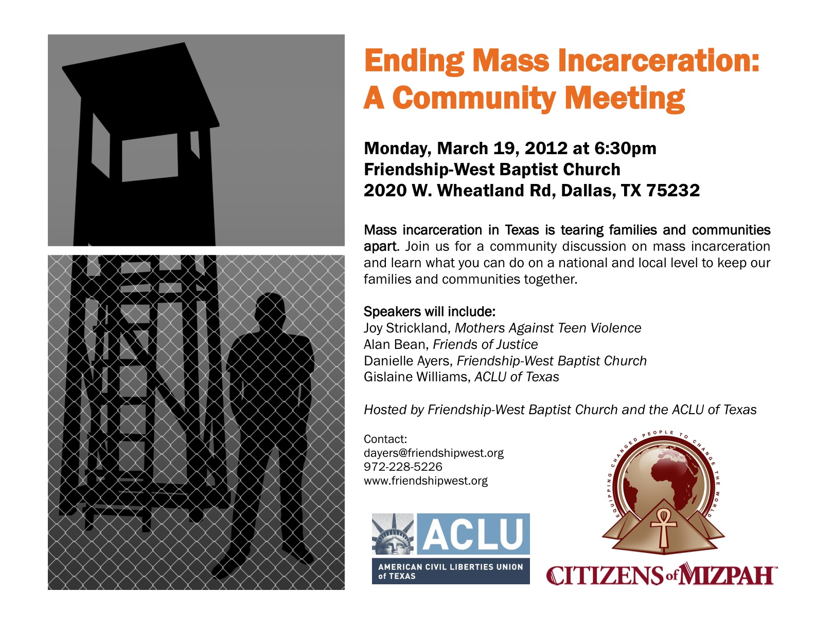 State Advocacy News: Grassroots Actions to Challenge Mass Incarceration