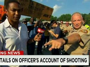 Dan Page and CNN anchor Don Lemon