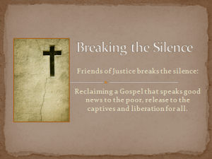 Breaking the Silence slide2