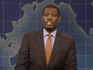 Michael Che of Saturday Night Live
