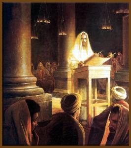 Jesus at Nazareth