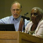 Singing freedom songs with Margaret in Cleveland, Mississippi