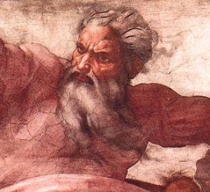 God, Michelangelo