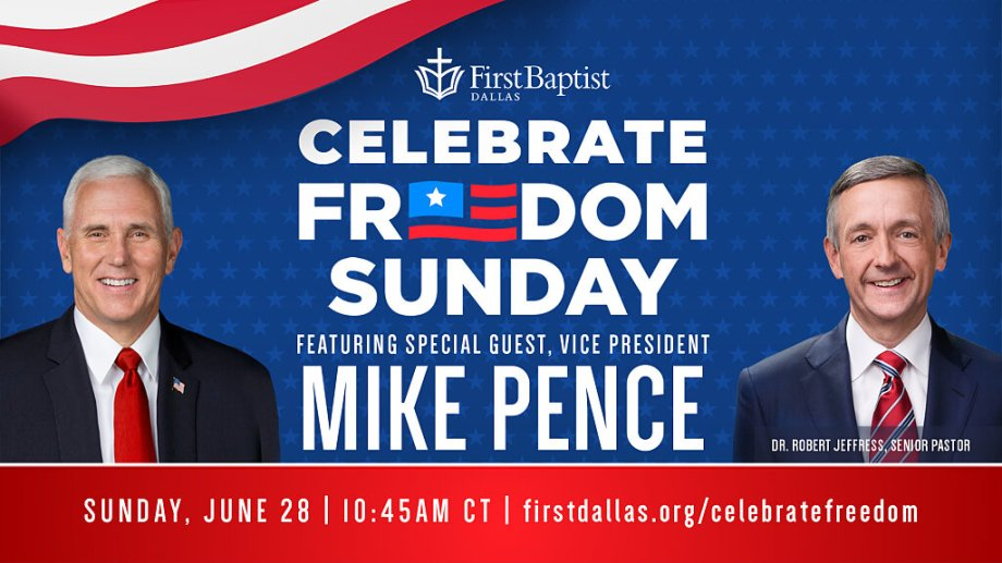 Celebrate freedom Sunday
